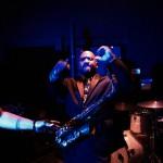 Saxophonist Dwan Bosman
